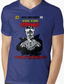 Dr Strange Cover Shirt Mens V-Neck T-Shirt