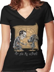 I Am Not Your Mummy Women's Fitted V-Neck T-Shirt