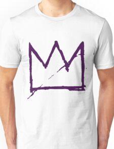 Crown (Purple) Unisex T-Shirt