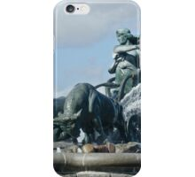 Gefion Fountain iPhone Case/Skin