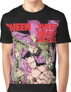 jojo KILLER QUEEN sheer heart attack Graphic T-Shirt