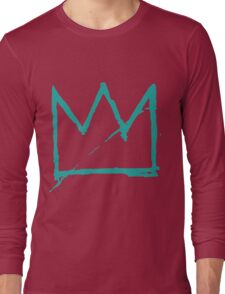 Crown (Teal) Long Sleeve T-Shirt