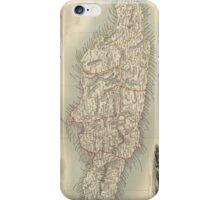 Vintage Map of Jamaica (1851) iPhone Case/Skin