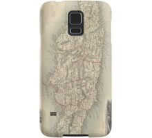 Vintage Map of Jamaica (1851) Samsung Galaxy Case/Skin