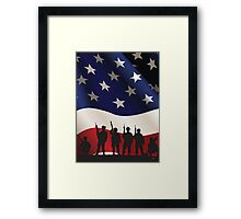 USA PATRIOT Framed Print