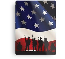 USA PATRIOT Metal Print