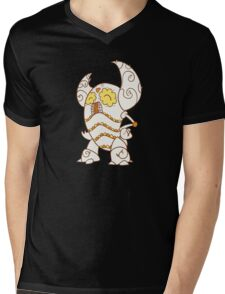 Pinsir Popmuerto   Pokemon & Day of The Dead Mashup Mens V-Neck T-Shirt
