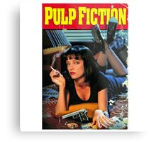 Pulp Fiction Merch Metal Print