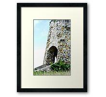 Sugar Mill Framed Print