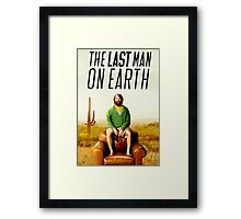 Last Man on Earth Framed Print