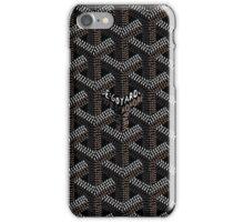 Goyard Black iPhone Case/Skin