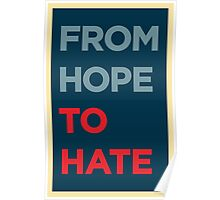 From Hope to Hate Poster