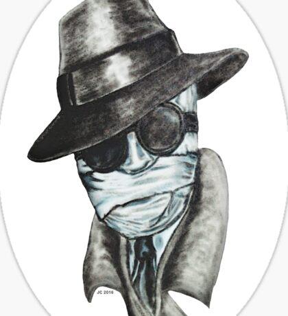 The Invisible Man Sticker