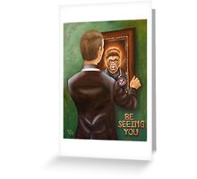 A Free Man Greeting Card