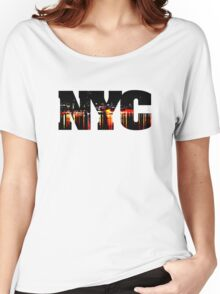 New York City NYC Women's Relaxed Fit T-Shirt