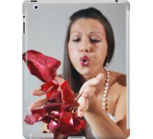 Rose petals girl iPad Case/Skin