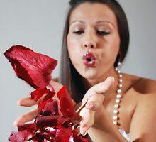 Rose petals girl by aleksandra15