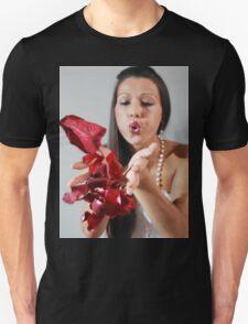 Rose petals girl T-Shirt