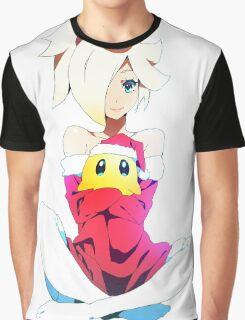 Rosy and Luma - White Graphic T-Shirt