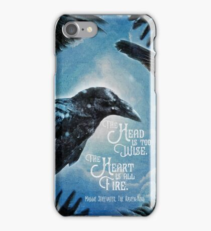 The Raven King - All Fire iPhone Case/Skin