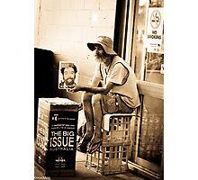 News Break Photographic Print