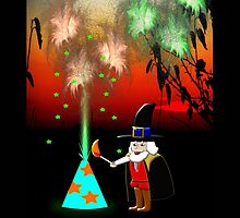 Guy Fawkes Night 5th November by Dennis Melling