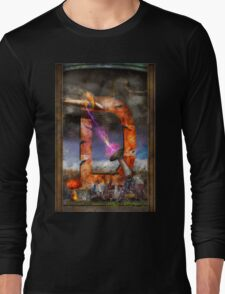 Steampunk - Alphabet - D is for Death Ray Long Sleeve T-Shirt
