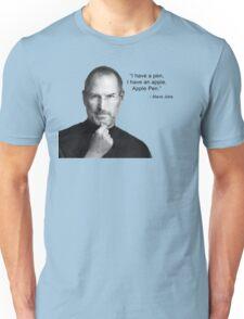 Apple pen steve jobs Unisex T-Shirt