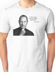 Apple pen steve jobs Unisex T-Shirt