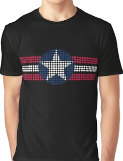 4th of July Seal dots3 Graphic T-Shirt