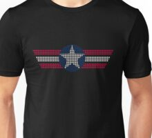4th of July Seal dots3 Unisex T-Shirt