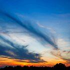 Sundown Clouds by Kenneth Keifer
