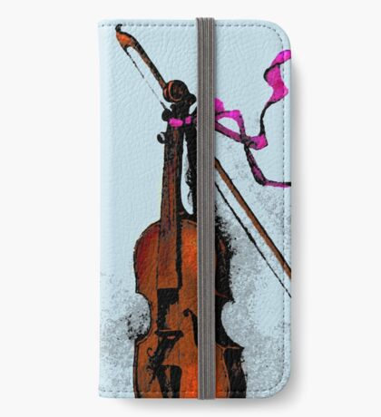 Violin & Ribbon iPhone Wallet/Case/Skin