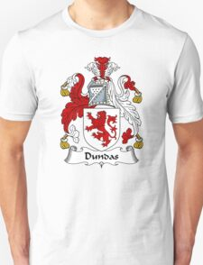 Dundas Coat of Arms / Dundas Family Crest Unisex T-Shirt