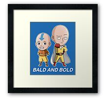 Bald and Bold Framed Print