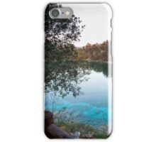 reflections on the lake iPhone Case/Skin