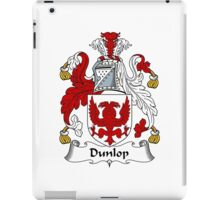 Dunlop Coat of Arms / Dunlop Family Crest iPad Case/Skin