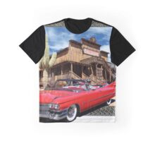 Cadillac in Town Graphic T-Shirt