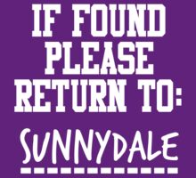 If Found, Please Return to Sunnydale by rexannakay