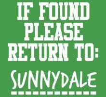 If Found, Please Return to Sunnydale Kids Clothes