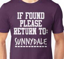 If Found, Please Return to Sunnydale Unisex T-Shirt