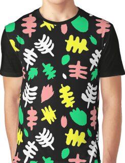Paradise Tropic black Graphic T-Shirt