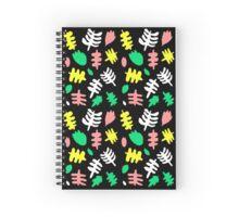 Paradise Tropic black Spiral Notebook