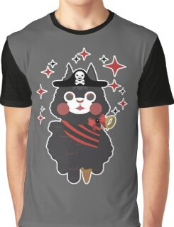 Perry The Pirate Alpaca  Graphic T-Shirt