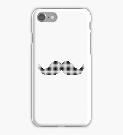 Moustache pixel iPhone Case/Skin