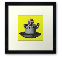Fancy a Cup of Genius Framed Print