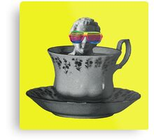 Fancy a Cup of Genius Metal Print