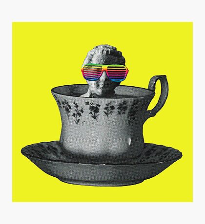 Fancy a Cup of Genius Photographic Print
