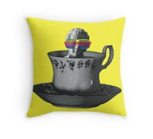 Fancy a Cup of Genius Throw Pillow