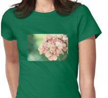 Yesterday's Flower Womens Fitted T-Shirt